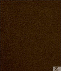 Wholesale Solid Polar Fleece Fabric Brown