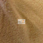 Wholesale Solid Polar Fleece Fabric Camel