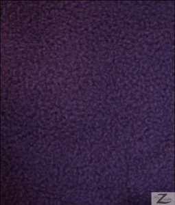 Wholesale Solid Polar Fleece Fabric Purple