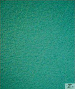 Aqua Solid Polar Fleece Fabric 60 Yard Roll