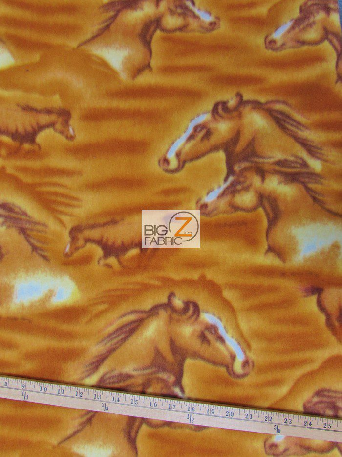 Wholesale Horses Polar Fleece Fabric Wholesale Polar Fleece Fabric