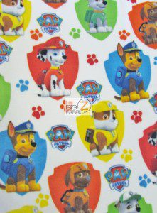 Paw Patrol Fleece Fabric