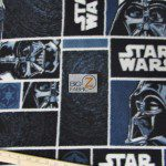 Star Wars Darth Vader Patch Fleece Fabric