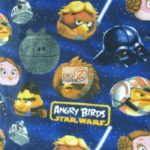 Wholesale Star Wars Fleece Fabric Angry Birds Saga