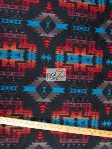 Aztec Indian Canyon Fleece Fabric