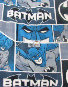 DC Comics Classic Batman Fleece Fabric