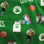 NBA Polar Fleece Fabric Boston Celtics