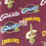 NBA Polar Fleece Fabric Cleveland Cavaliers