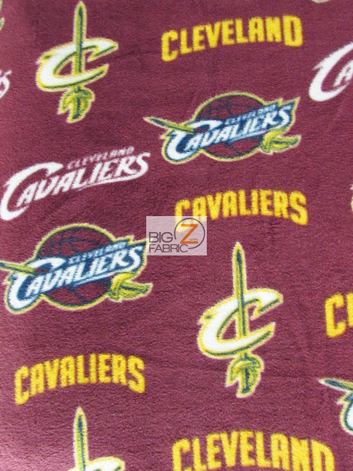 Cleveland Cavaliers Polar Fleece Fabric