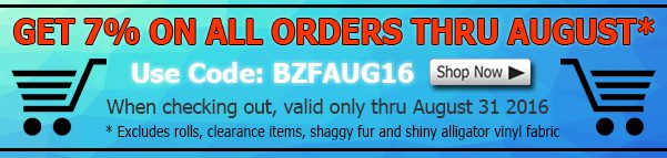 August Big Z Fabric Polar Fleece Discount