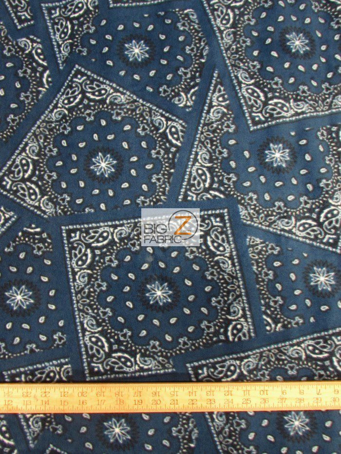 Bandana Polar Fleece Fabric
