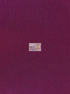 Burgundy Wholesale Polar Fleece Fabric