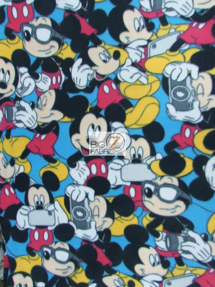 Mickey Mouse & Accessories Polar Fleece Fabric