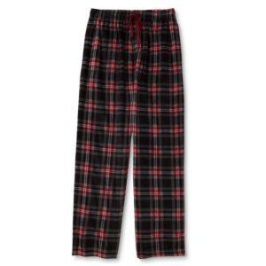 Plaid Fleece Fabric Pajamas