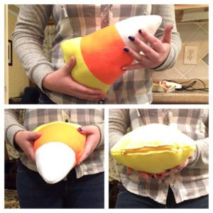 Polar Fleece Candy Corn Props