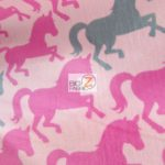 Wholesale Fleece Fabric Fairy Unicorns