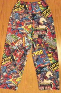 Marvel Comics Fleece Pants Pajamas