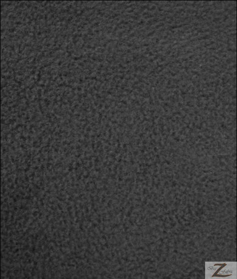Charcoal Wholesale Polar Fleece Fabric