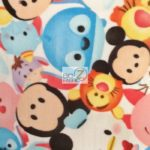 Baby Mickey Mouse Friends Patch Disney Polar Fleece Fabric