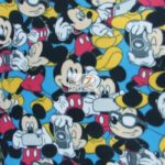 Mickey Mouse & Accessories Disney Polar Fleece Fabric