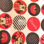 Minnie Dot Icons Disney Polar Fleece Fabric
