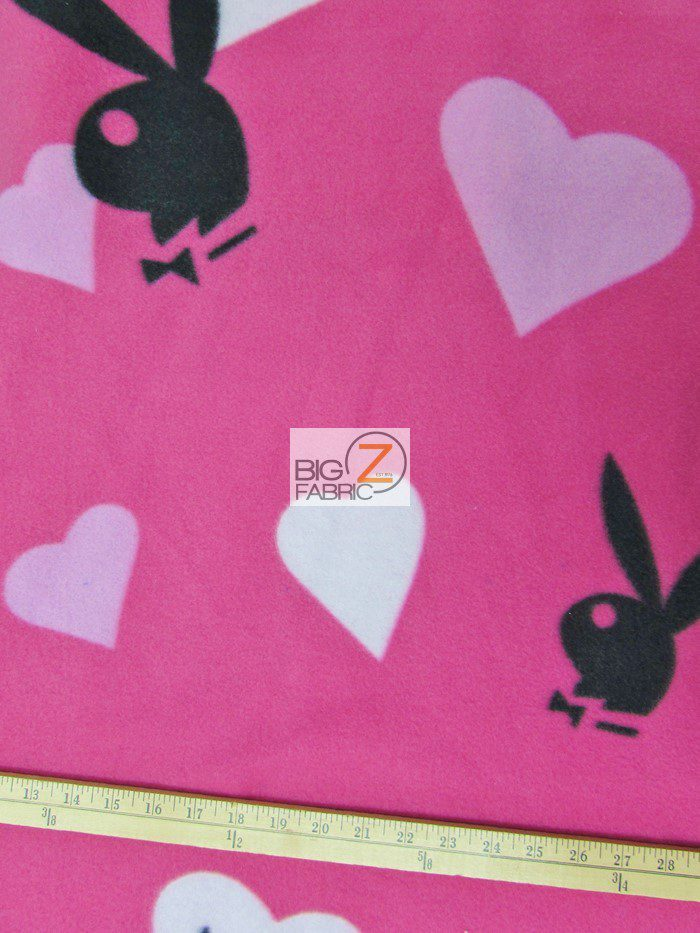 Playboy Polar Fleece Fabric