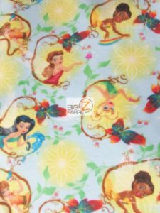 Princess Disney Polar Fleece Fabric