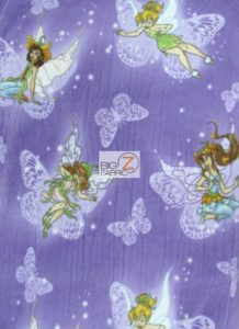 Tinker Bell Disney Polar Fleece Fabric