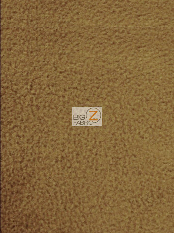 Dark Caramel Wholesale Polar Fleece Fabric