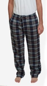 Warm Plaid Polar Fleece Pajamas