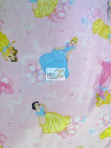 Blossom Princes Toss Polar Fleece Fabric