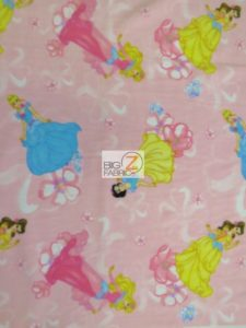 Princesses Garden Polar Fleece Fabric
