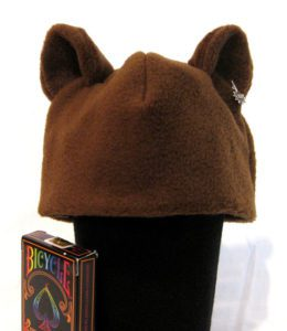 Infant Bear Fleece Hat