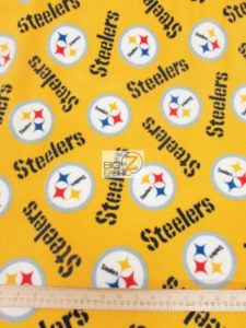 Steelers Fleece Fabric