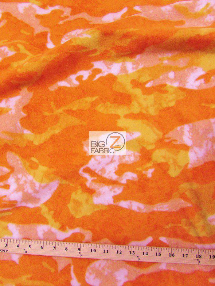 fleece printe camouflage